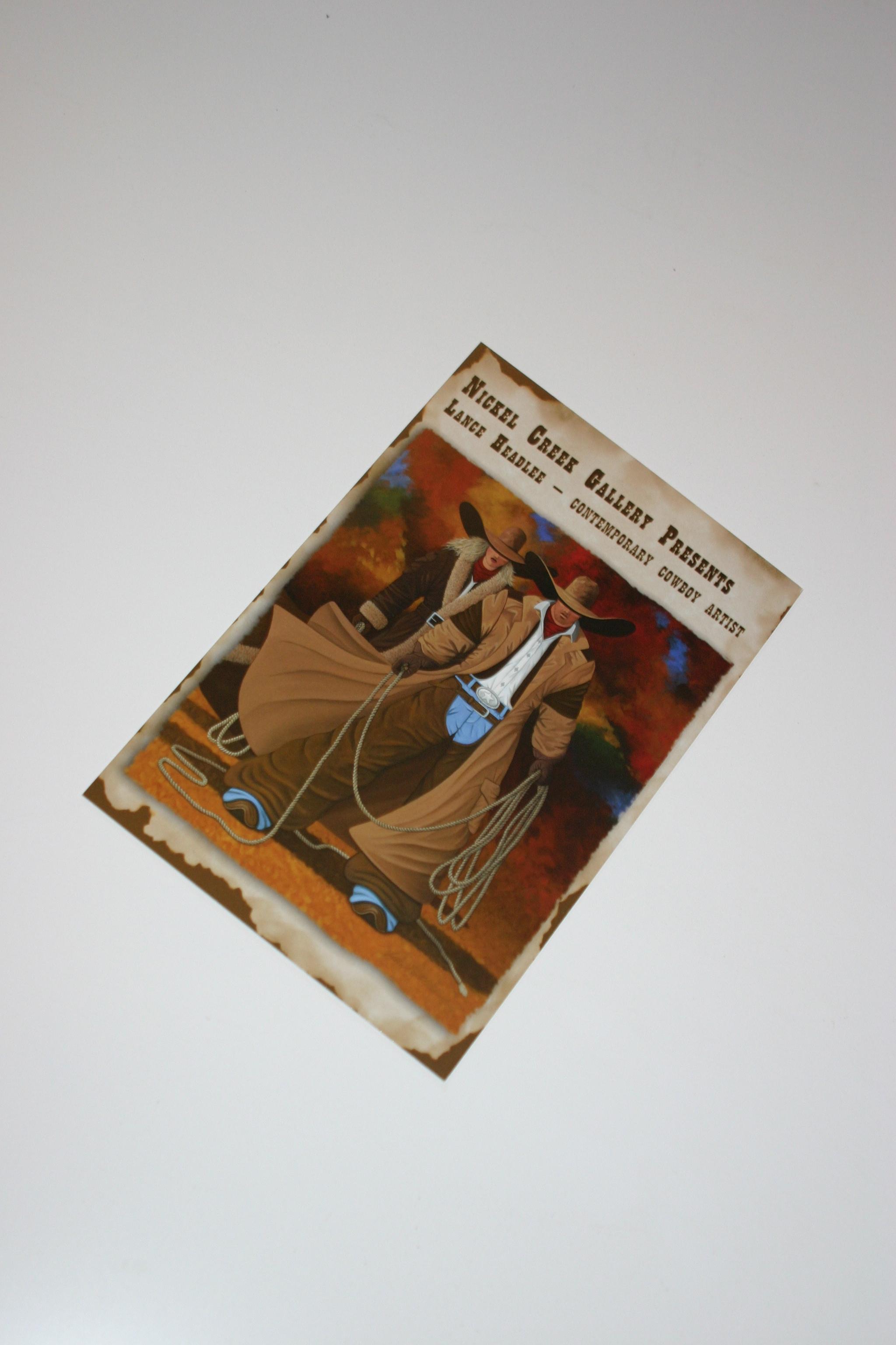 Custom Postcard Design - Artist Postcard